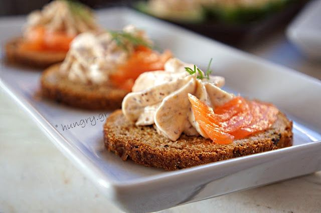 Kitchen Stories: Smoked Salmon Mousse Canapés