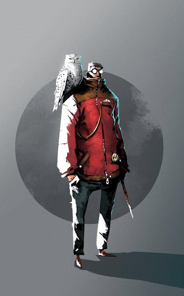 Ignacio Felechosa - Character Design Challenge