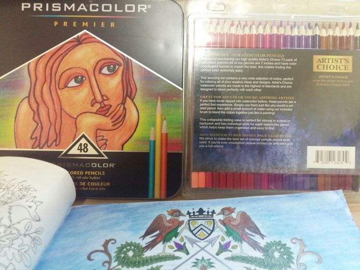 Joanna Basford, Enchanted Forest. Coloring my book with this colores pencils. #PrismacolorPremier #ArtistsChoice