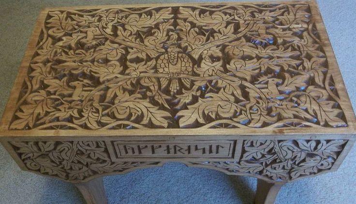 Best chip carving designs images on pinterest carved