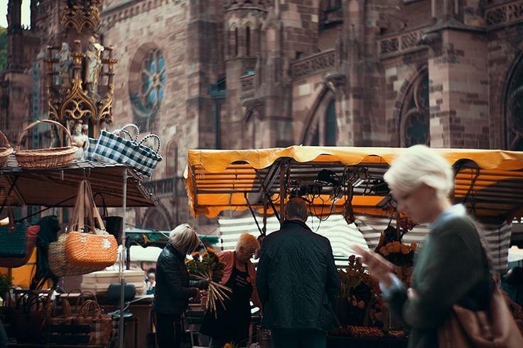 Münsterplatz Freiburg im Breisgau