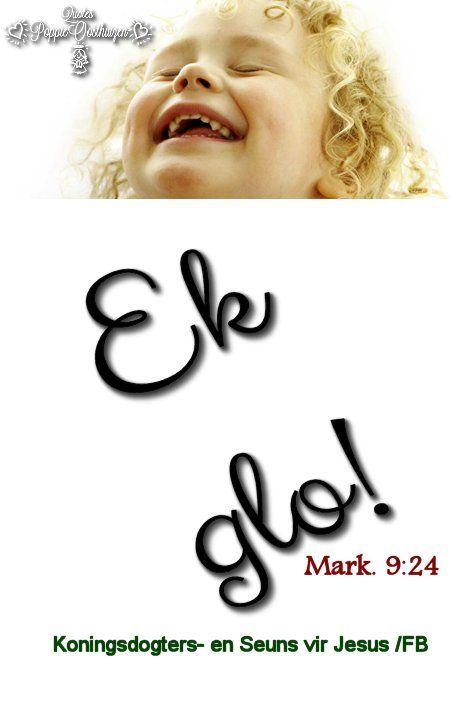 Christelike Boodskappies: GELOOF