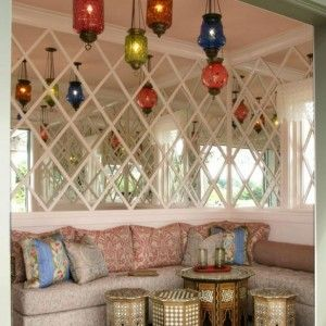 Chic Colorful Moroccan Pendant Lanterns For Indoor