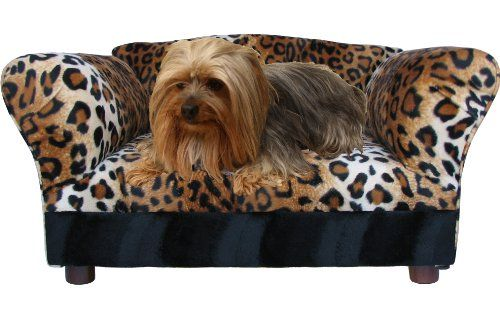Fantasy Furniture Mini Sofa Leopard Pet Bed Fantasy Furniture