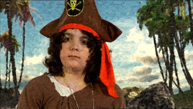 Een piraat maakt op zoek naar een schat allemaal vrienden.