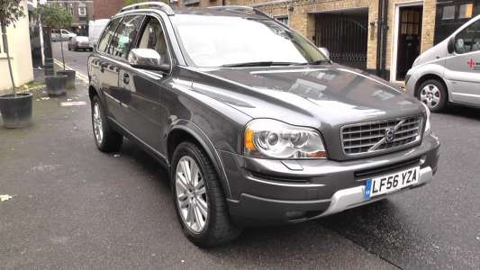 Used 2006 (56 reg) Grey Volvo XC90 Volvo  D5 Executive Geartronic for sale on RAC Cars