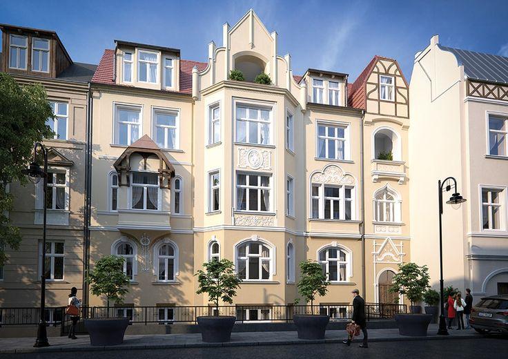 Nowe mieszkania w kamienicy w Bydgoszczy na ul. Cieszkowskiego  Stan deweloperski, mieszkania w sprzedaży