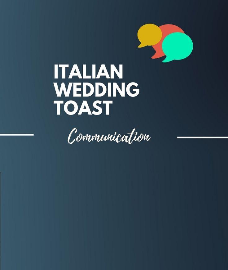 Unique Italian Wedding Toast