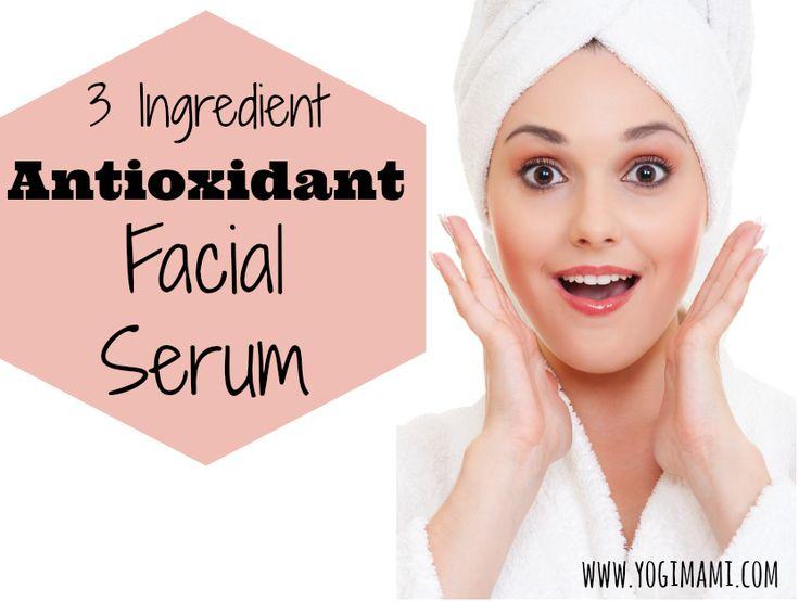 Milf antioxidant facial serum that