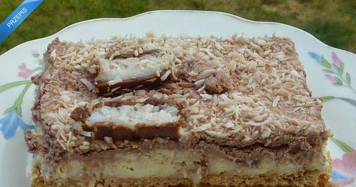Ciasto kokosowe na zimno