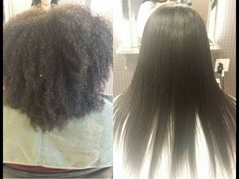 Super kinky hair gets transformed into beautiful straight hair. I love my work~ If you have any question, don't hesitate to contact me. Thank you and love you all~ :D