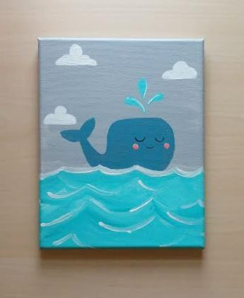 Best 25 Whale Painting Ideas On Pinterest Whale Canvas Boat Painting And Watercolor