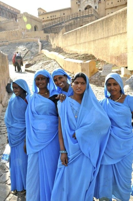 """Royal Blue"" in Jaipur, Rajasthan, India |  Khaled Habash via National Geographic"