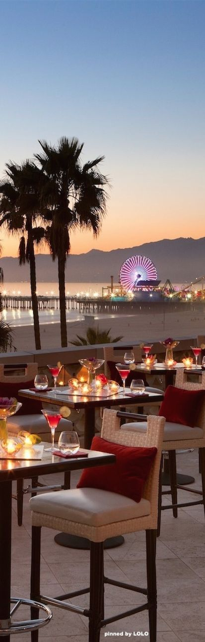 Dinner at Hotel Casa del Mar....Santa Monica. www.kerlagons.com