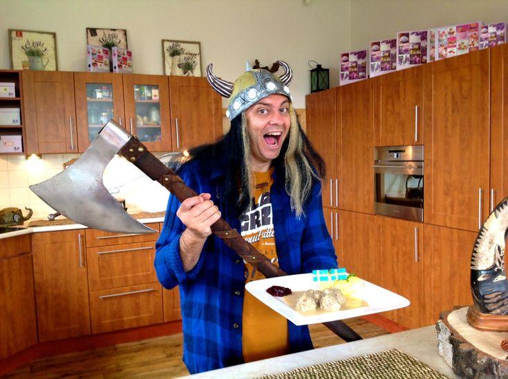 Nejchutnější Švédské masové kuličky recept, ala IKEA, lehké a lahodné re...