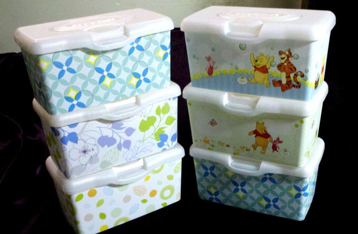 Handy For Diaper Time 6 Huggies Baby Wipes Dispensers
