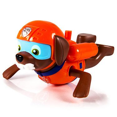 Paw Patrol Paddlin' Pups Bath Toy - Zuma