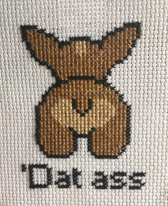Who doesnt love a nice fluffy corgi butt? This listing is for a PDF file of the corgi butt cross stitch pattern. There are only three colors, and the finished size is approximately 2.5x3, making it the perfect beginner pattern