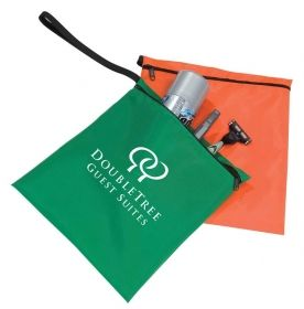 Promotional Products Ideas That Work: Nylon Case 8x8. Made in Canada. Get yours at www.luscangroup.com