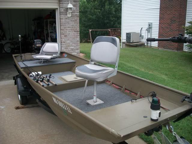 DIY Jon Boat Deck | Deck install in 1436 - TinBoats.net