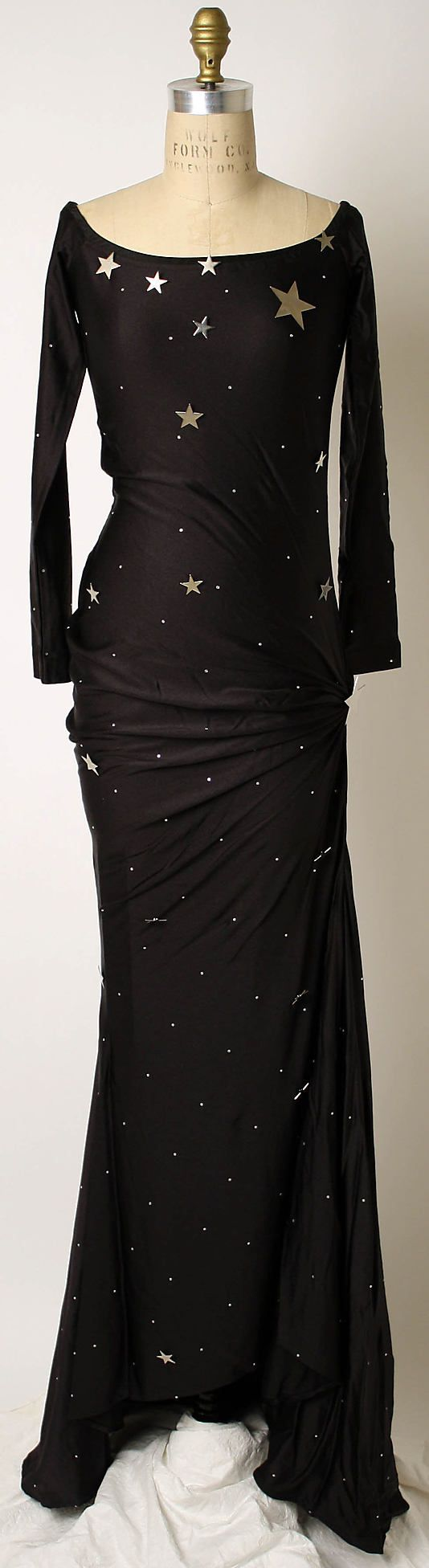 Gowns Pagan Wicca Witch:  Star-spangled evening #gown from one of the iconic 1980s designers. Patrick Kelly.