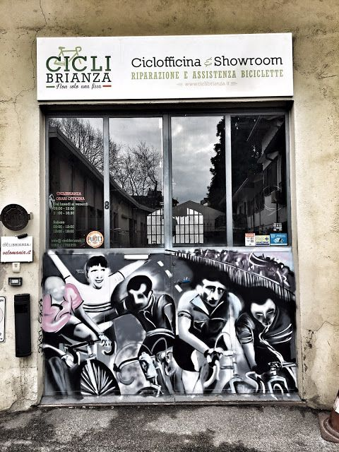 Team DuePi: Inaugurazione Cicli Brianza, Ciclofficina e Showro...