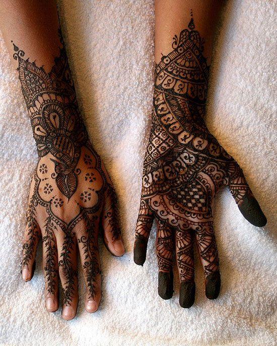 Mehandi Henna for full hands