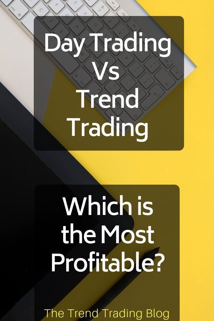 Day Trading Vs Trend Trading Trend Trading Day Trading Forex