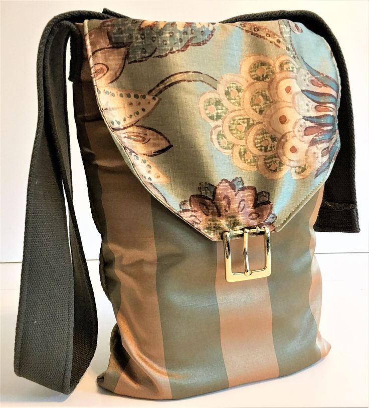 Crossbody Tote, Handmade Bags, Fabric Bags, Recycled Bags, Ladies Handbags, Boho Bag, Vegan Bag, Eco Friendly Bag, Hobo Handbag, Tote Bag by BellesabyBethany on Etsy