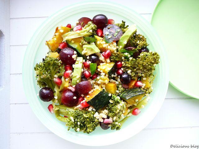 Zimní jáhlový salát