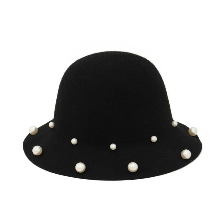Hat with pearls. #hat #pearl Szaleo.pl | Fashion & Accessories