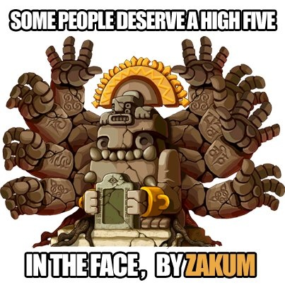 Zakum! Maplestory