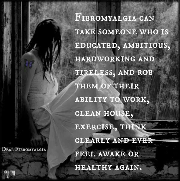 This sums it up... Fibro                                                                                                                                                                                 More