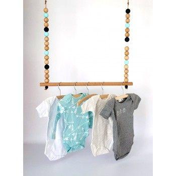 Houten hanger kralen