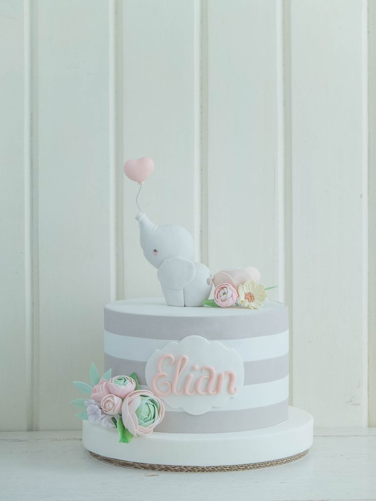 CTCakes - Elephant and Stripes