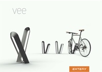 VEE bike racks  VEE rastrelliere per biciclette