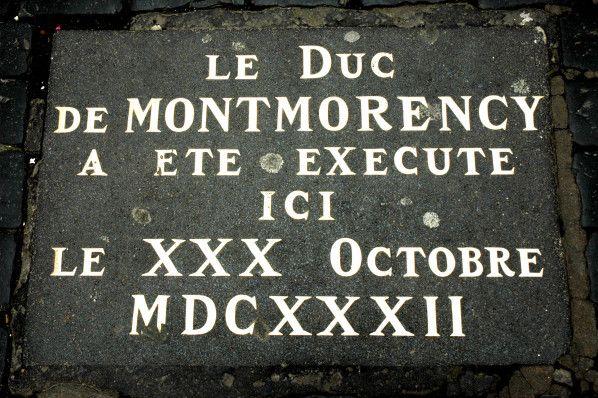 Henri II de Montmorency, né le 30 avril 1595 au château de Chantilly, exécuté à Toulouse le 30 octobre 1632, Un peticlin d'oeil, à celles et ceux qui demandent de l'Oucéti un local très facile .. google s'abstenir ... réponse à ... 19h00 pétantes Un clic...