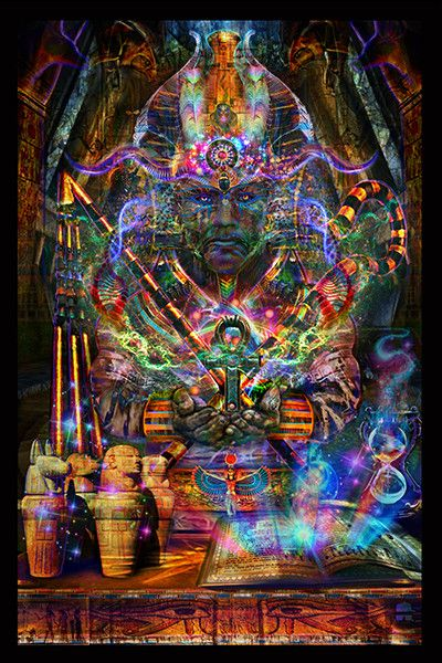 Série égyptienne Osiris Tapisserie - Jumbie Art