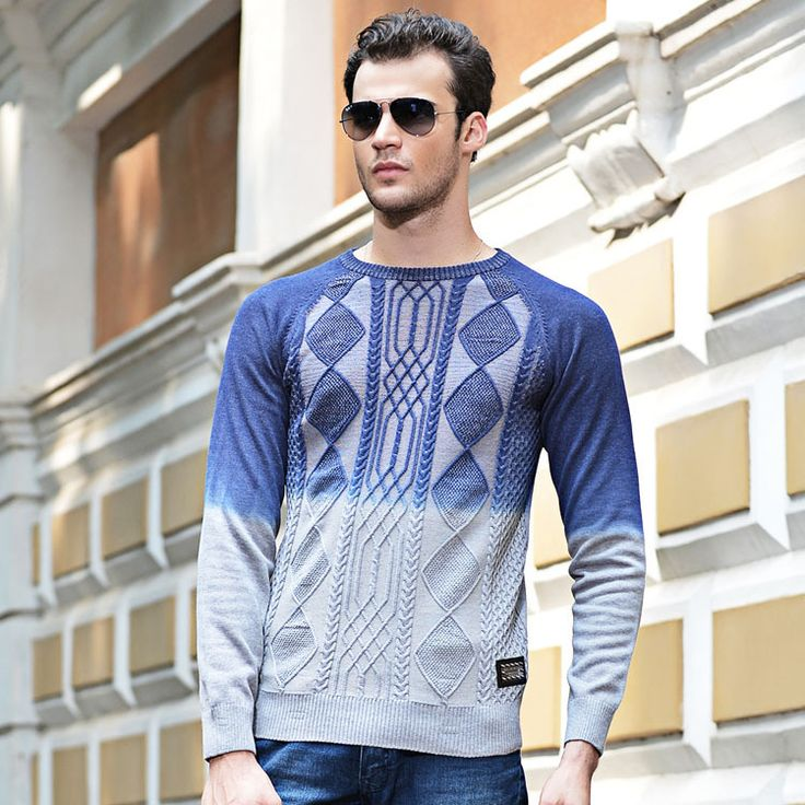 New Men's Sweaters Brand 2016 Mens Winter Sweaters And Pullovers O ...