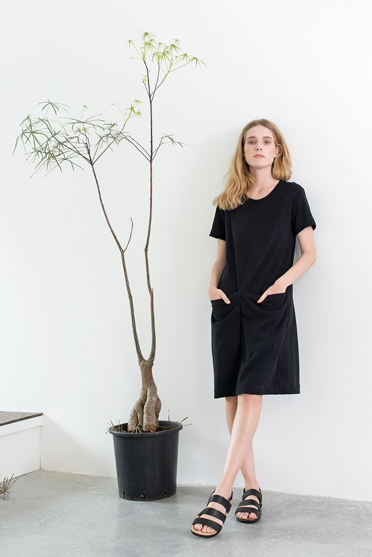 Black SILT dress by Magpie Goose