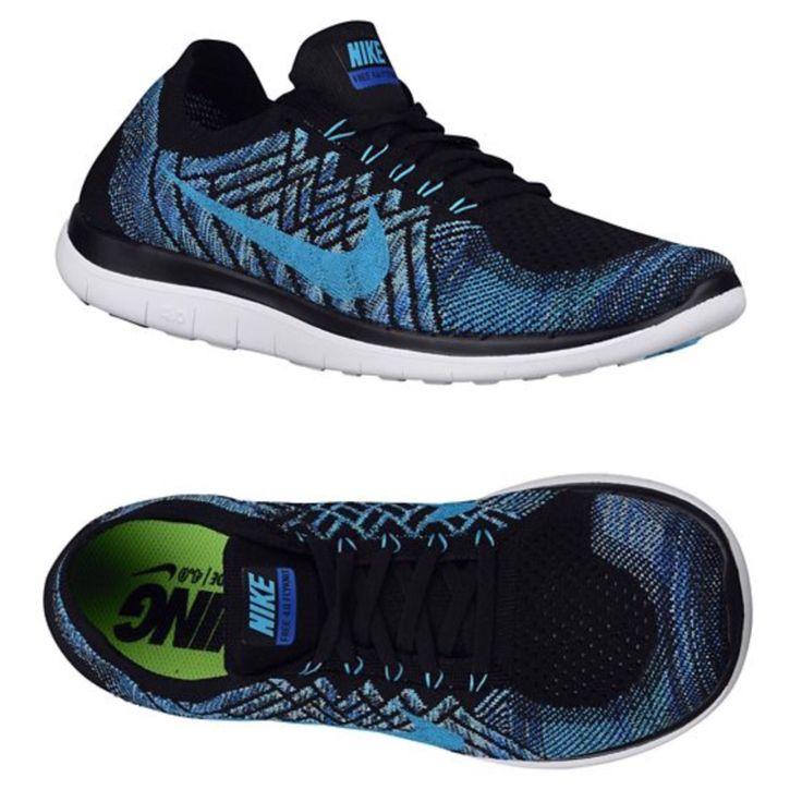 Nike Free 4.0 Flyknit 2015 black/royal