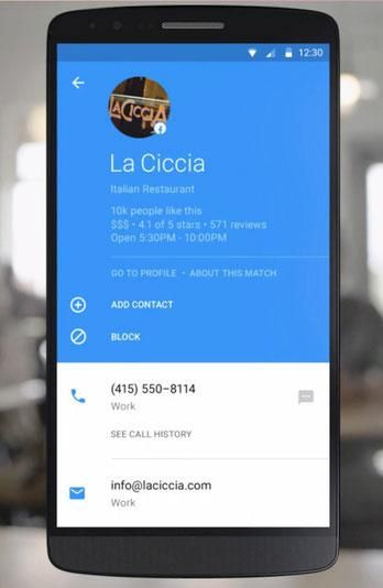 Facebook's Hello app for Android wants to replace your default phone app.