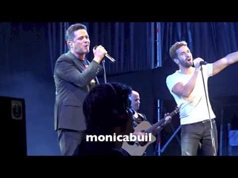 Pablo Alborán - Quien (con Alejandro Sanz), concierto Madrid 13 junio 2015
