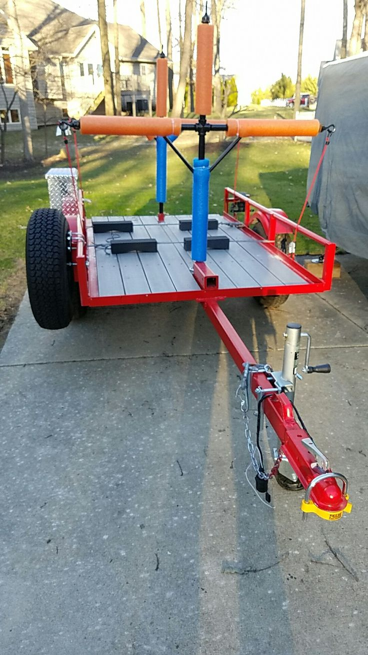 Harbor Freight Utility Cart >> 69 best Harbor Freight Trailer Ideas images on Pinterest | Kayak trailer, Camp trailers and ...