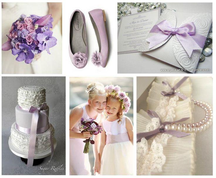 light lilac wedding theme