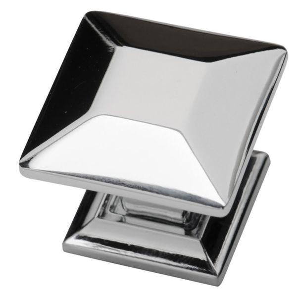Southern Hills Polished Chrome Cabinet Knobs U0027Arcadiau0027 (Pack Of 5)  (Polished Chrome, Pack Of 5), Silver