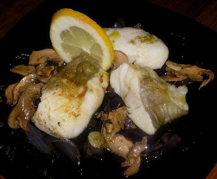 Pan Fried Cod & Wild Mushrooms
