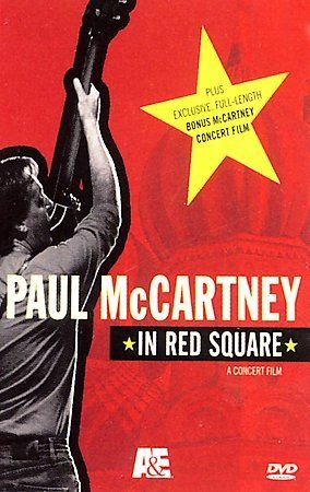 Paul McCartney - Live in Red Square, Concert Film DVD Sealed Exclusive
