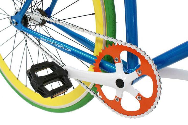 Pedalier #bicicleta #fixie urbanfixstyle Jujube
