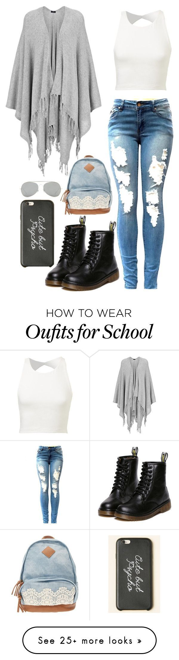 Ugh School by kevinfabulous on Polyvore featuring Joseph and Acne Studios